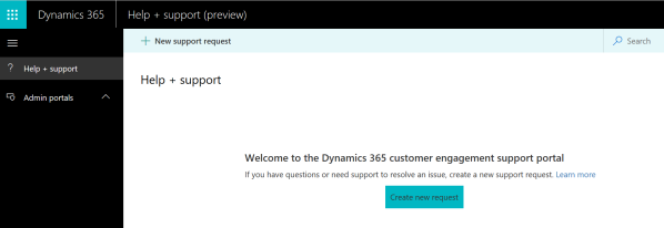 dynamics365helpsupportcenter